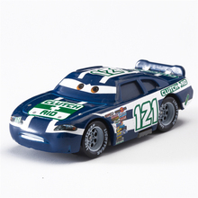 Disney Pixar Cars 2 3 No.121 Racing Car Lightning McQueen Jackson Storm Cruz Mater 1:55 Diecast Metal Alloy Model Toy Gifts