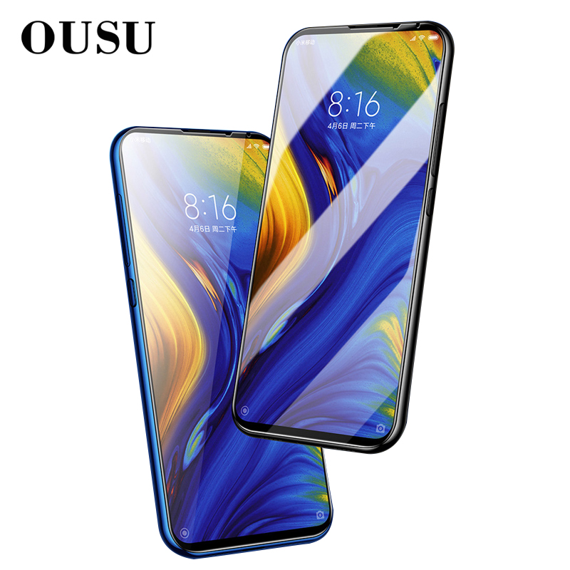 OUSU Phone Accessories Protective Glass Film Screen Protector For xiaomi mi mix 3 Scratch Proof Tempered
