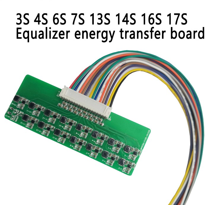 Active Balancer Lithium Battery BMS 3S 4S 6S 7S 13S 16S Equalizer Energy Transfer Board Li-ion Lipo Lifepo4 Balance 1.2A DIY KIT image