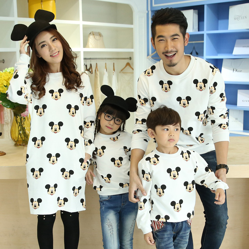 1dbb074cff60b New Spring family matching outfits baby outwear mother and son clothes  terry fabric kids clothing mother dress family clothes