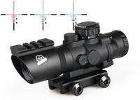 Canis Latrans Tactical 4x32 Dual Ill. Tactical Compact Scope Spotting Scope For Hunting OS1 0187