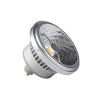 AR111 GU10 15W Spotlight 30 45 Beam Angle Anti Glare Side Double COB Chips Idea Replace
