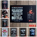 20X30cm/ PUT IT IN A BOTTLE WINE JACK DANIELS antique retro metal tin sign Iron painting craft vintage home wall decoration
