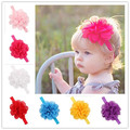 Baby flower Headband Chiffon Headband Infant Headbands Baby Girl hairbands Baby Hair Accessories Headwear Photo Prop 20pcs HB147