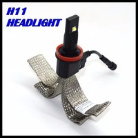 New Design H11 LED headlight cree XML chips fog lamp Auto led headlight H11 H7 9005 9006 h3 for all vehicles 40W 5000LM