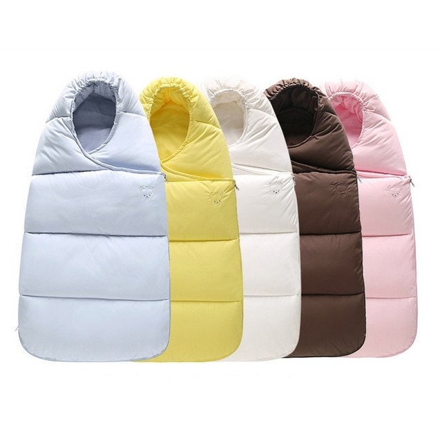 INfant Baby Winter Warm Stroller Sleepsack Kids Thickening Down Cotton Sleeping Bags FreeShipping