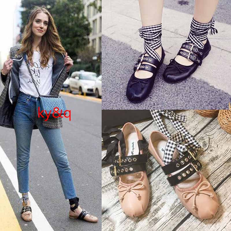 Womens Strappy Leopard Round Toe Ballet Flat Espadrilles lace Shoes Causal Shoes Loafers Ribbon Moccasins Shoes For Women