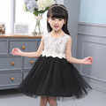 Drop shipping 2016 new summer girls lace dress children princess  Eugen flowers ball gown dresses A516