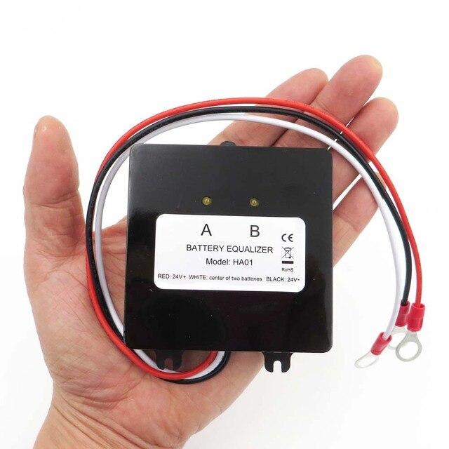 Battery equalizer 2 X 12V used for lead acid batteris Balancer charger for Gel Flood AGM lead acid battery HA01 HA02