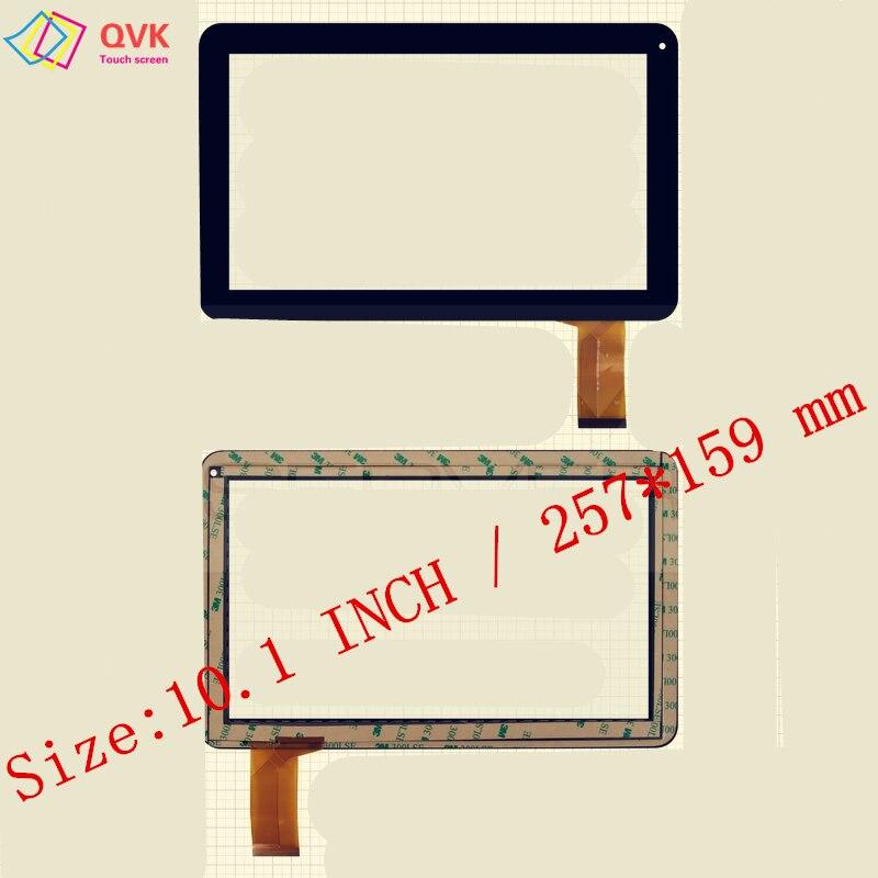 10.1 pouce pour PoLaRoiD MID1028 PNE02.133 tablet pc capacitif écran tactile en verre digitizer panneau livraison