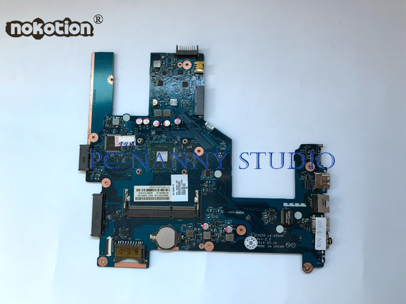 NOKOTION for HP 15 R 15 r101na 15 r030wm 15 r104nf Motherboard Mainboard 788287 501 w/ Pentium N3540 ZSO50 LA A994P WORKING-in Motherboards from Computer & Office    1
