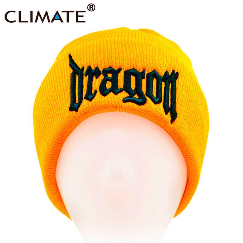 56b81687945 ... CLIMATE New Men Women Dragon Hat Warm Beanie Game of thrones Skullies  Knit Hat Nice 3D ...