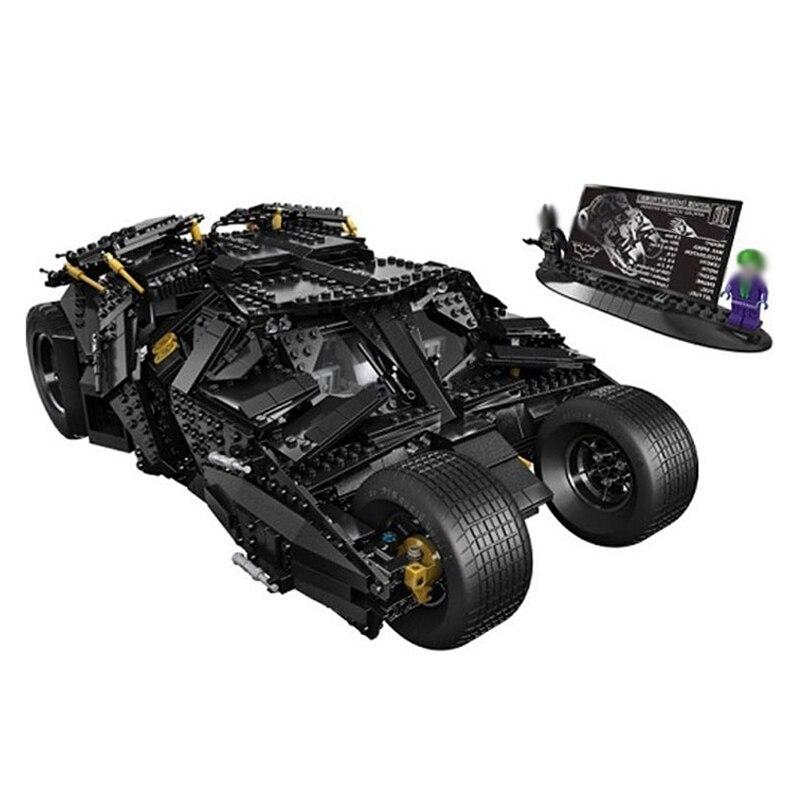 2017 New Lepin 07060 Batman Armored Chariot 1969Pcs super heros series Classic Movie Series Building lepin Blocks Toys
