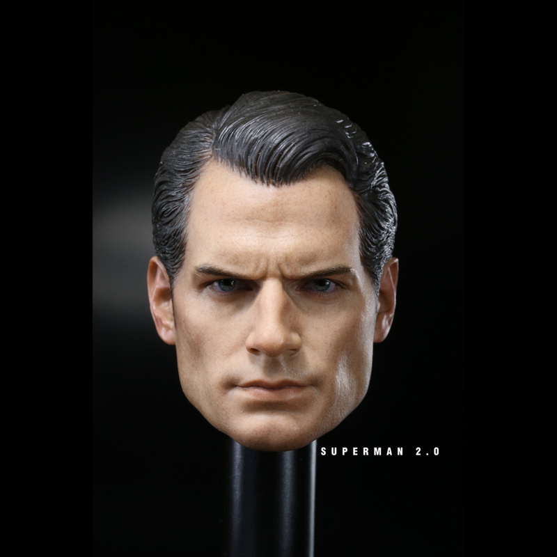 1/6 Scale Toys Non- HOTTOYS Superman World War II Batman Superman 2.0 Male Head Carved 12 Figure Accessories greg pak batman superman volume 1 cross world