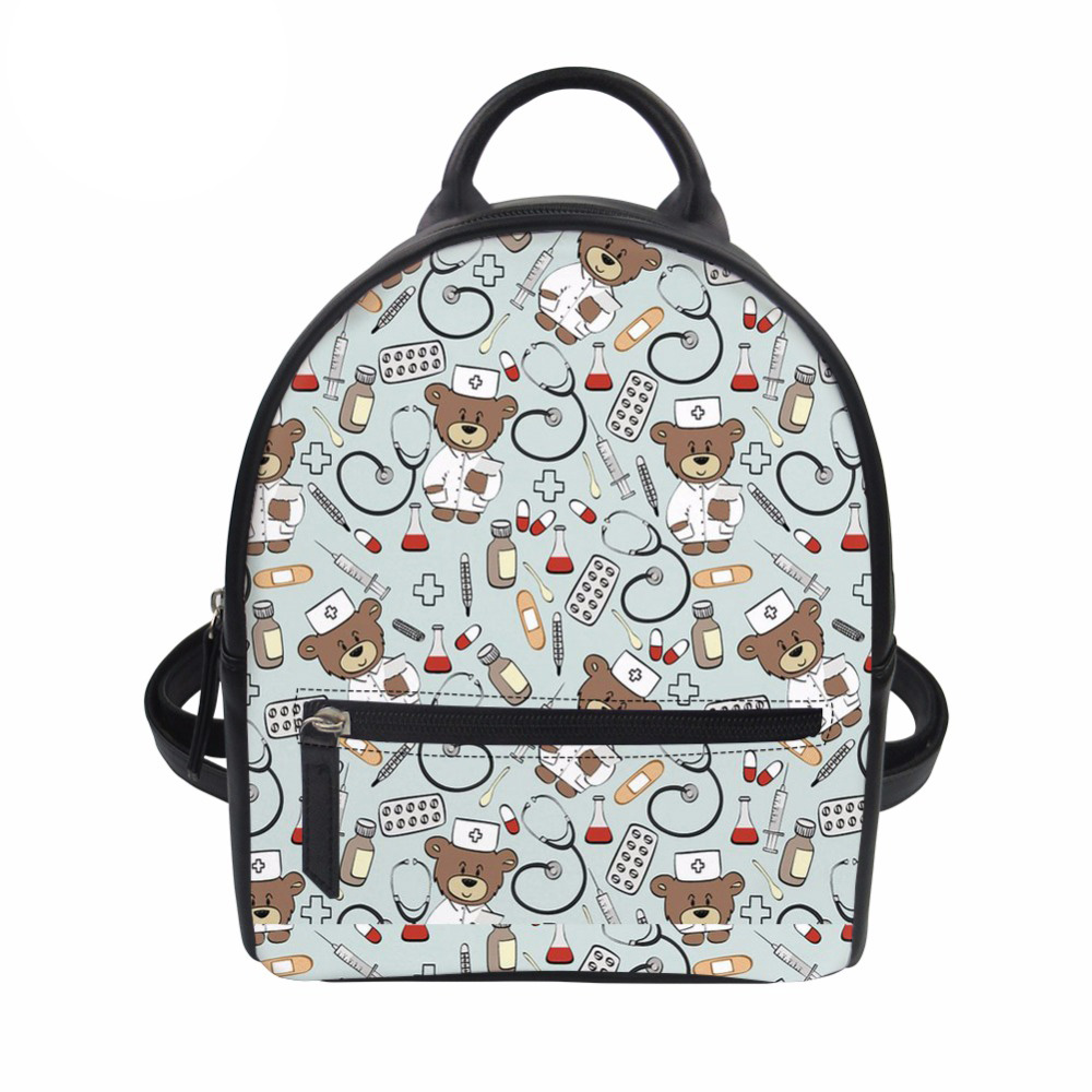 ee1a4355766 DANNY BIEBER Women Canvas Backpack Drawstring School Bags for ...