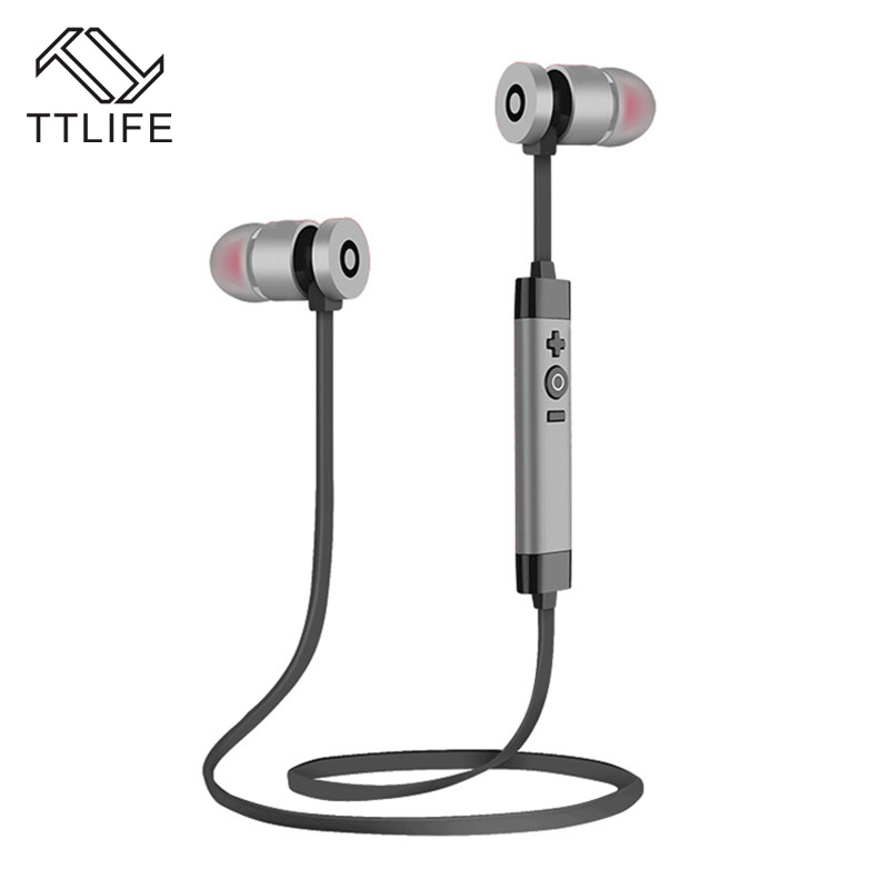TTLIFE Wireless Bluetooth Earphone Headset Sport fone de ouvido Noise Cancelling with mic For iPhone Xiaomi Smartphone Android 7 music bluetooth earphone wireless sports earphones noise cancelling earbuds with mic fone de ouvido for iphone 7 xiaomi hot sell