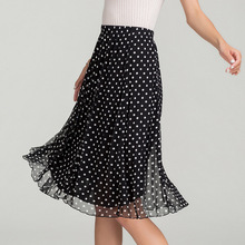 mujeres medio-longitud de falda