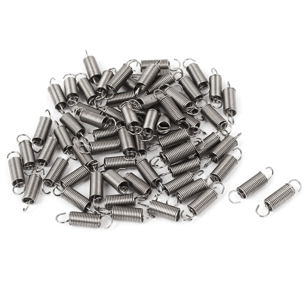 66pcs 12mm Length 0.4mm Wire Diameter 3mm Outer Diameter Stainless Steel Dual Hook Small Tension Spring Hardware Accessories include nickel 304 stainless steel pipe tube outer diameter 20mm wall thickness 1 5mm length 200mm