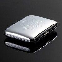 Ultra thin Metal Cigaret Box