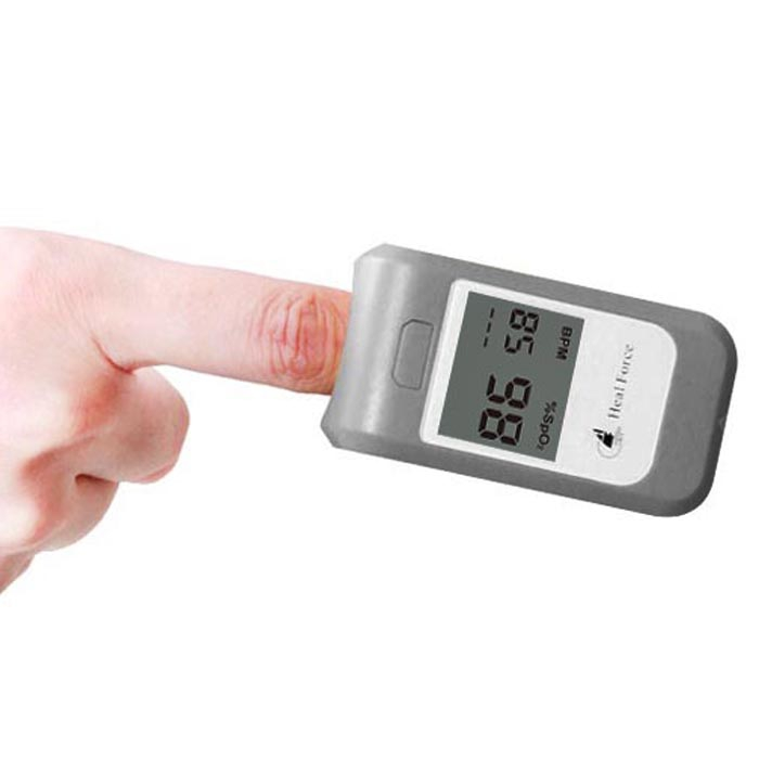 Heal Force Pc-60b Oximeter Digital Fingertip Health Care Pulse Heart Rate Tester Blood Oxygen Meter Finger Pulse Oximetro1