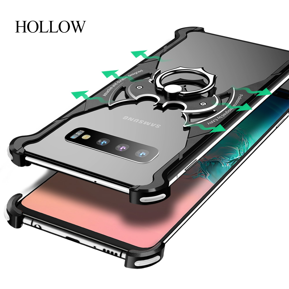 Image 5 - OATSBASF Metal Case For Samsung Galaxy S10 S10 Plus S10e Personality for Metal Bumper Cover shockproof  CasePhone Bumpers   -
