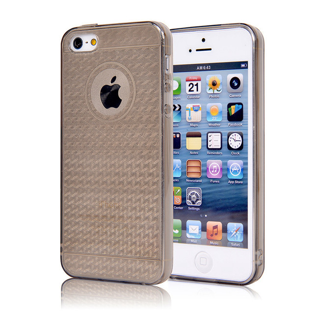 Phone Cases For Apple Iphone 5s Case Transparent Gold Armor Series