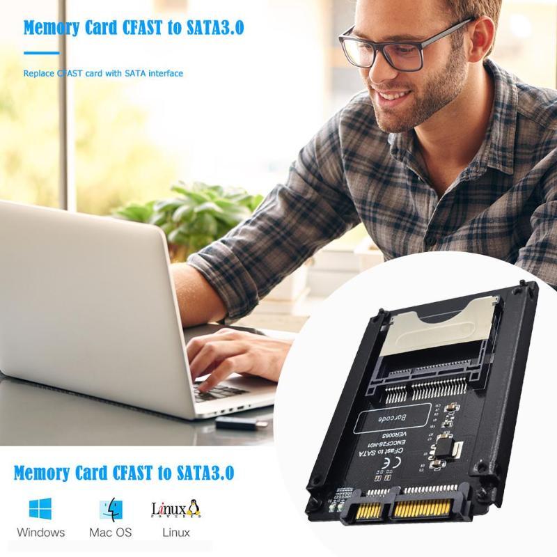 CFast Card to SATA 22pin Adapter HDD Converter