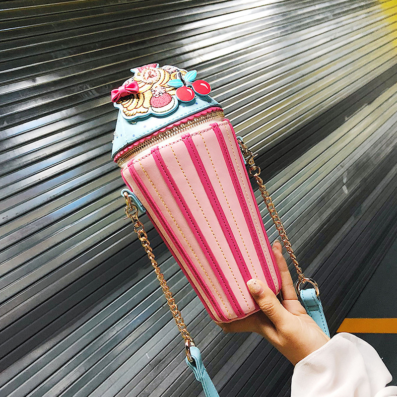 Personalized Bucket Bag, Oblique Bag, Necessary To Beautiful and Cute Girls, Charming and Darling Clutch Bags