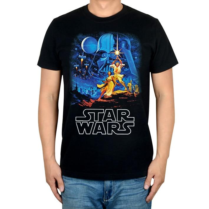 Rational Summer Style Vintage Star Wars Men Women Movie Shirt Laser Blade Mma Print 3d Cotton T-shirt Music Fitness Xxxl Darth Vader T-shirts Men's Clothing