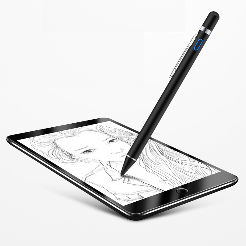 10 x Metal Universal Stylus Touch Pens for Android Ipad Tablet Iphone PC black