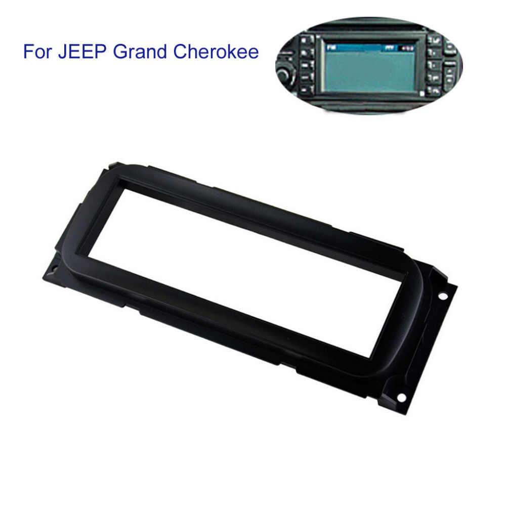 適用ジープグランドチェロキーラジオステレオ車の DVD GPS パネル新ブラック 1DIN フレーム Mp5 車アクセサリー高品質