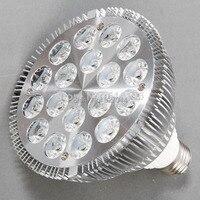 Free Shipping Par 38 18w 36W 85 245Vac E27 3000K 4000K 5500K LED PAR38 Spotlight Lamps