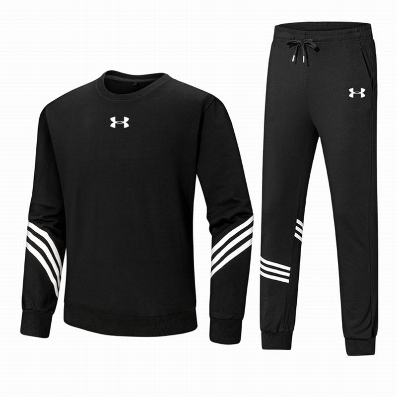 Under Armour New Arrival Men Sweatshirt +pants 2 pieces Male Outdoor Gym Fitness Clothes Long-sleeve Sports Suits Size M-5XLUnder Armour New Arrival Men Sweatshirt +pants 2 pieces Male Outdoor Gym Fitness Clothes Long-sleeve Sports Suits Size M-5XL