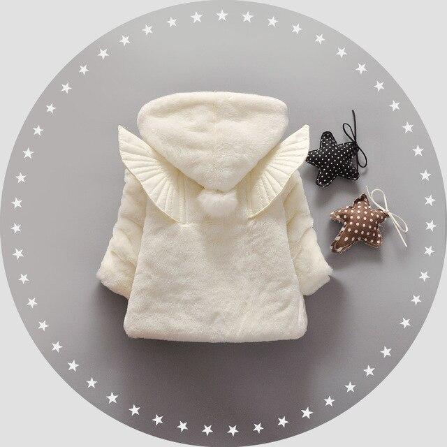 Тепло! 2016 новый ребенок осенью и зимой пальто платье девушки принцесса одежда 100% хлопок шерсти детей 1-3 лет бесплатно доставка