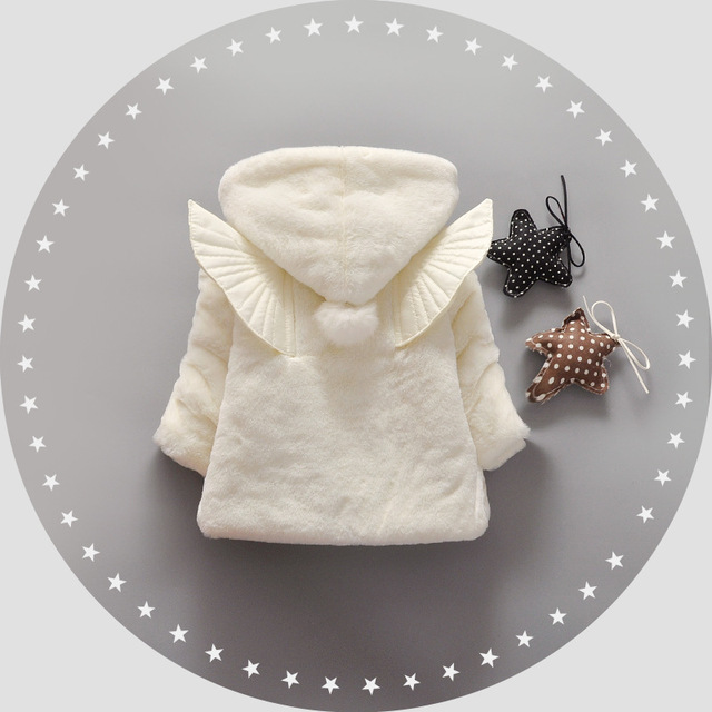 heat! 2016 new baby autumn and winter coat girl dress princess clothing 100% cotton wool children 1-3 years free shipping