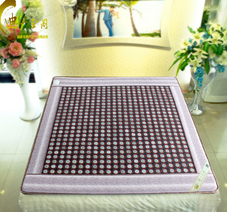 Infrared Heating Health Care Mat Yoga Pad Heat Stone Jade Mattress Tourmaline Heating Pad 1.0X1.9M Free Shipping