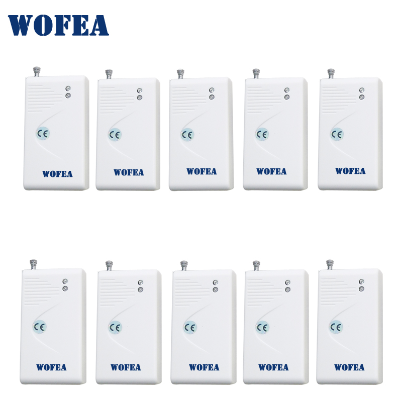 Wofea Wireless Vibration Sensor Shock Detector 10pcs /lot Free Shipping