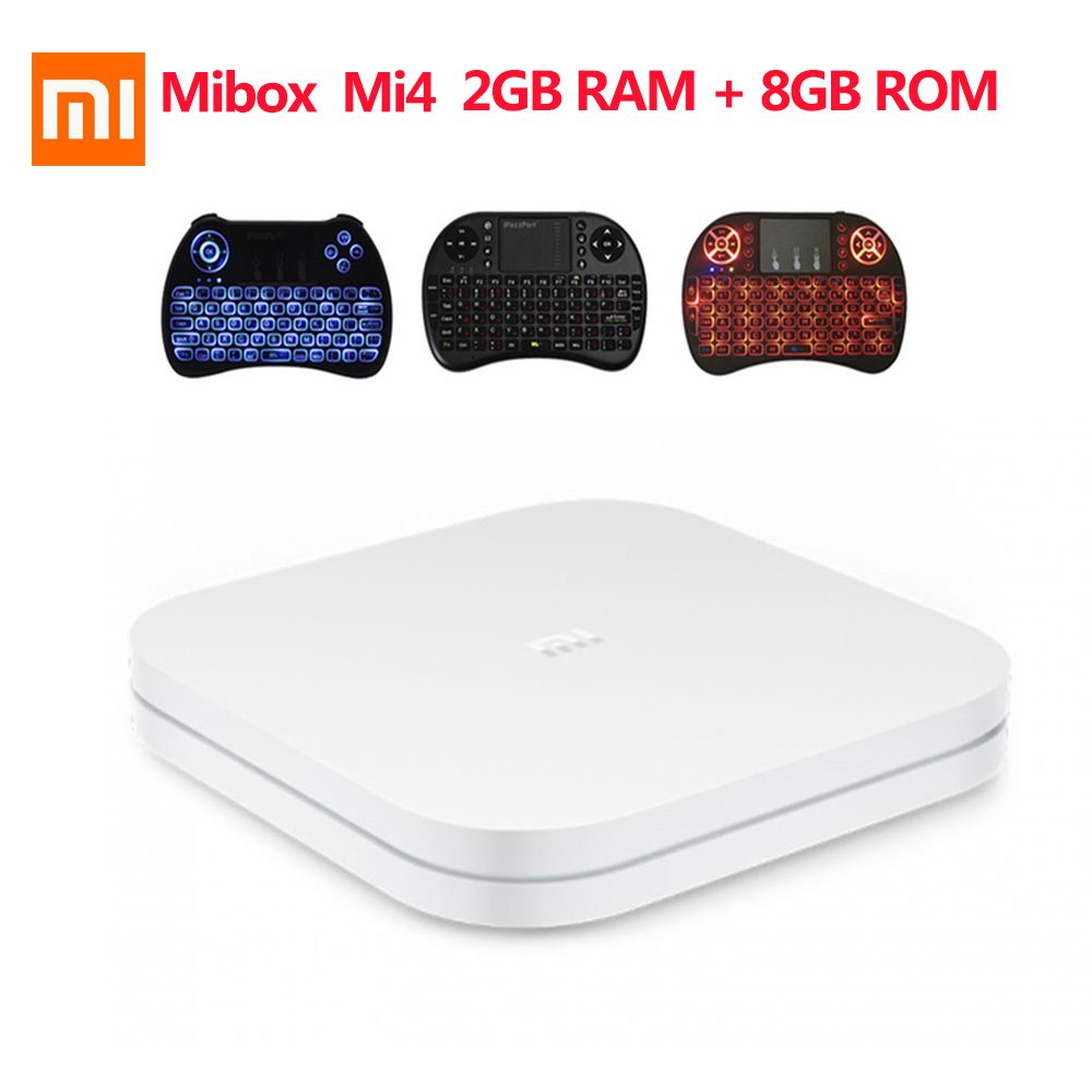 XIAOMI Mi Box 4 Android 7 1 Amlogic Cortex A53 Quad Core 64bit 2GB 8GB 4K