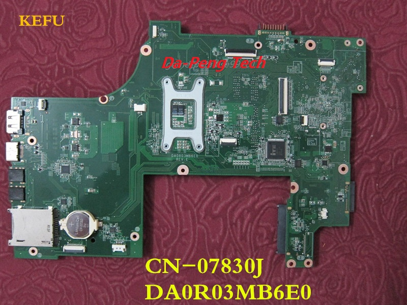 NEW! For Dell N7110 Intel Motherboard CN-07830J 07830J DA0R03MB6E0 100/% tested