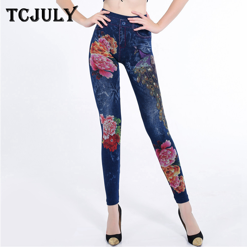 TCJULY 2018 High Street Seamless Jeggings For Women High Waist Skinny Push Up Ankle Length Pants Stretchable Slim Jeans   Leggings