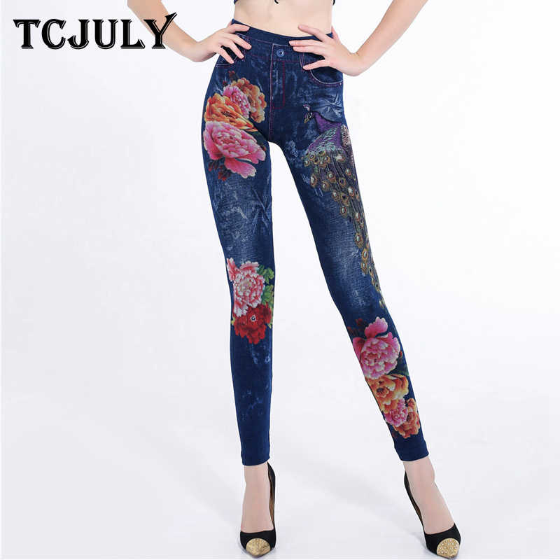 24f76378bf8e5 TCJULY 2018 High Street Seamless Jeggings For Women High Waist Skinny Push  Up Ankle Length Pants