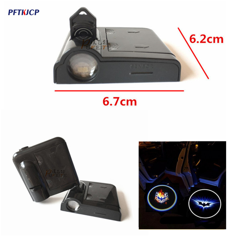 2x LED Car Door Courtesy Laser Logo Projector Light For Renault Logan Megane 3 Duster Laguna 2 Clio Fluence Scenic Captur