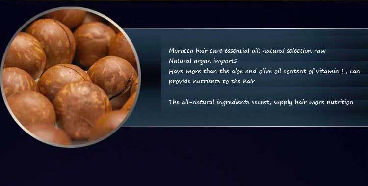 New 100% pure keratin moroccan argan coconut oil essential oils hair mask repair damage Frizz Hair Care treatment 50ml bottle 5