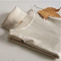 Mode Dünnen frauen Rollkragen Pullover Winter Pullover Frauen Long Sleeve Solide Strick Pullover Kausalen strickwaren Komron E013