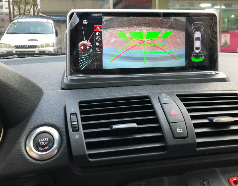 BMW E87 android 8.1 screen