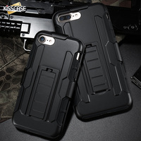 FLOVEME Hybrid Armor Phone Cases For IPhone 7 7 Plus Cover Fashion Cool Phone Shell Cover