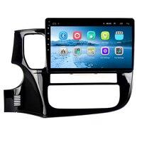 8,1 Android 10,1 автомобильный DVD gps для Mitsubishi Outlander 2014 2015 2016 аудио автомобиля Радио Стерео Навигатор bluetooth Wi Fi Встроенный