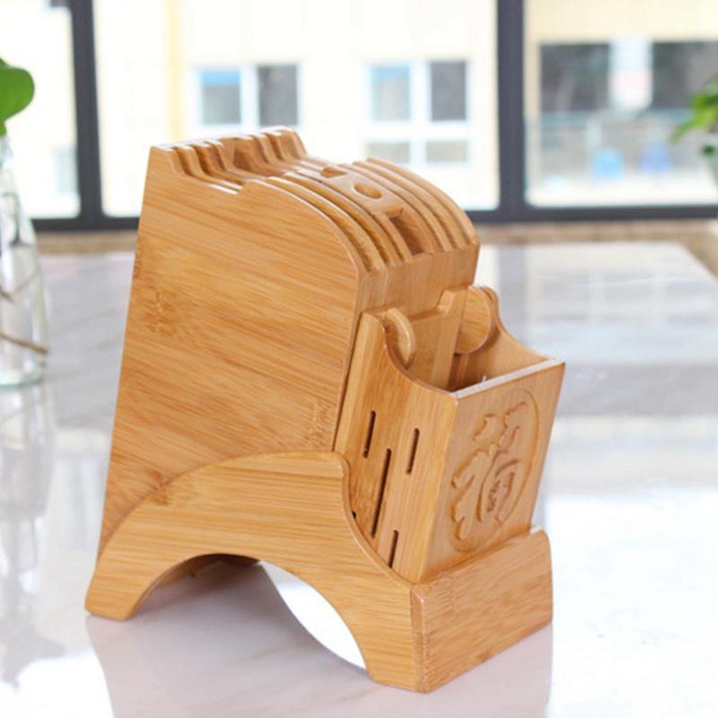 Kitchen Bamboo Knife Holder…