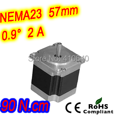 цена на 6 pieces per lot high resolution step motor 23HM22-2006S L 56 mm Nema23 with 1.8 deg 2 A 90 N.cm and unipolar 6 lead wires