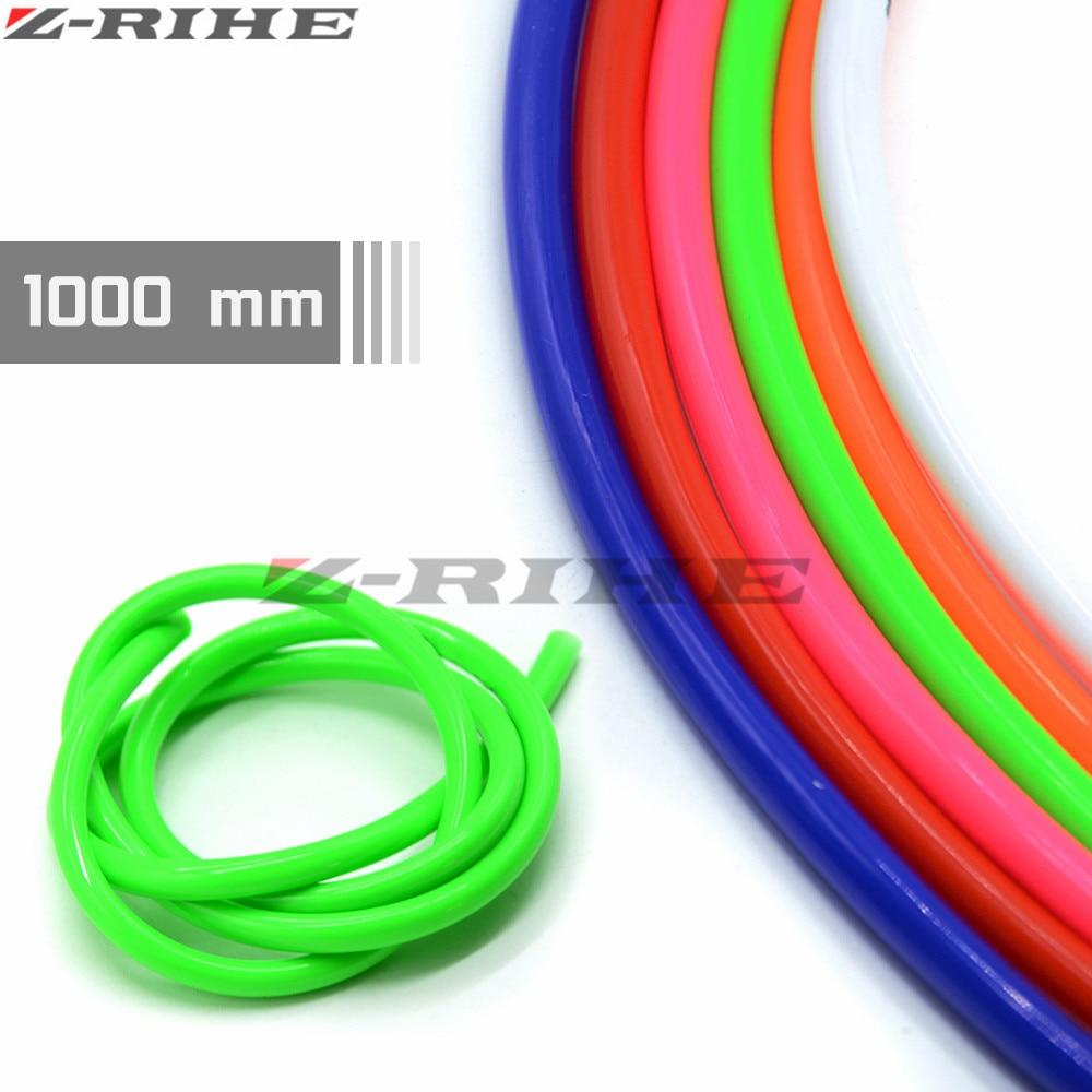 Pit bike fuel line,1M W-racing logo coloured fuel line BLUE